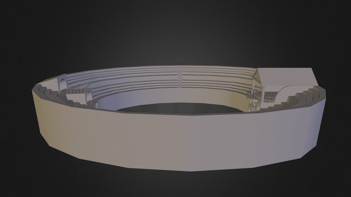Arenatestversie 3D Model