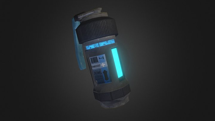 University Project - Healing Grenade Asset 3D Model