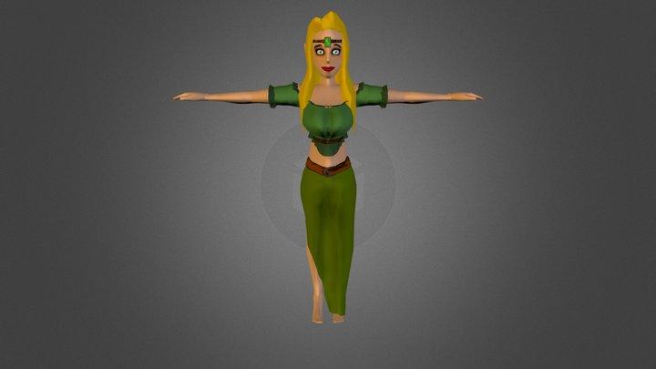 Peony 3D Model