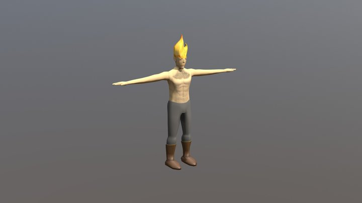 Dragon Man 3D Model