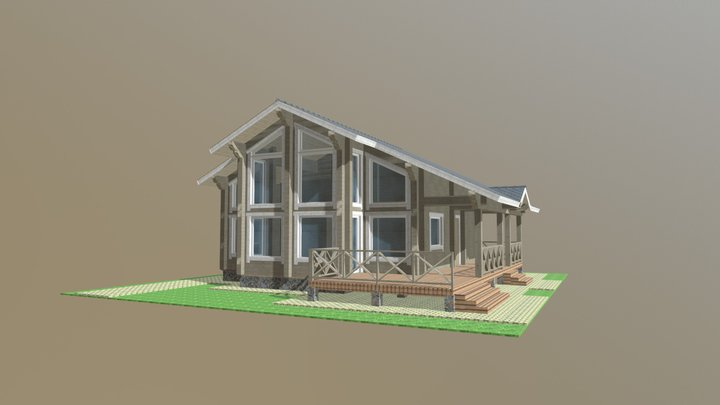 Пулково 3D Model