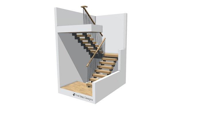Bagdanova Staircase 3D Model