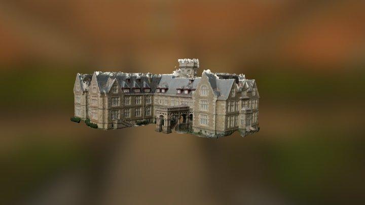Palacio de la Magdalena 3D Model