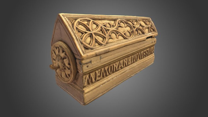 Memento Mori Coffin 3D Model