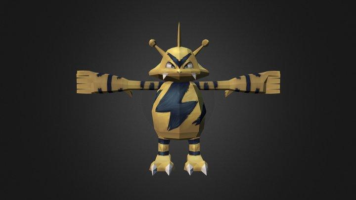 Electabuzz Remake (Pixelmon) 3D Model