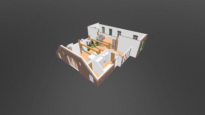 Woonboerderij 3D Model