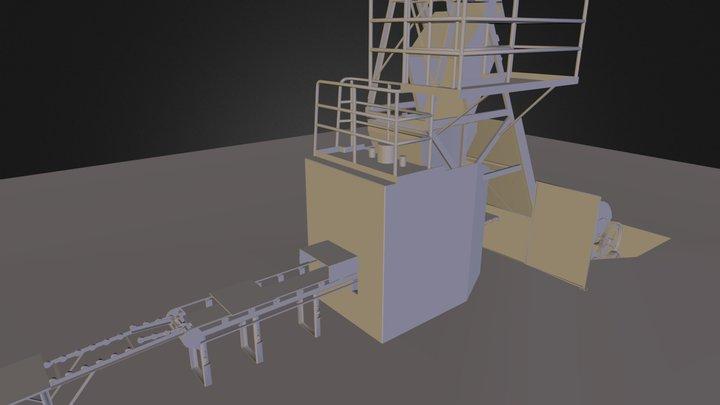 Vibroprensa 3D Model