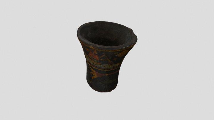 Kero Incaico. Periodo Colonial. S.XVII 3D Model