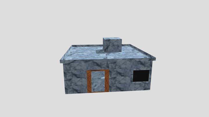 Mini House 3D Model