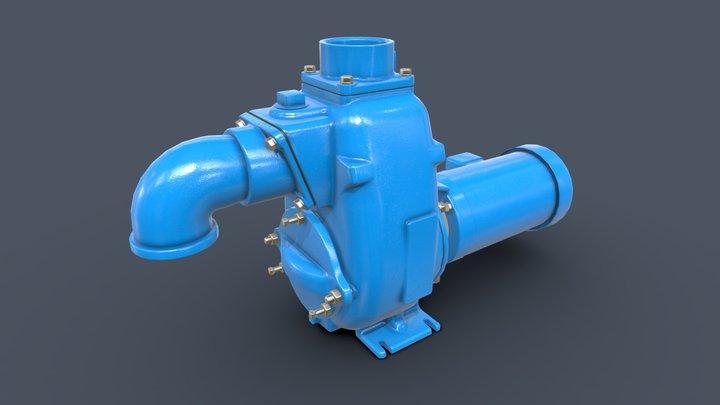 25MPC Self-Priming Pump 3D Model