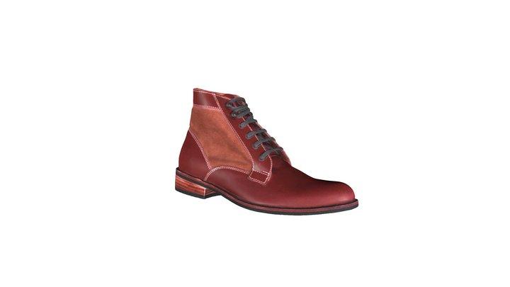 Zapato Nain hombre 3D Model