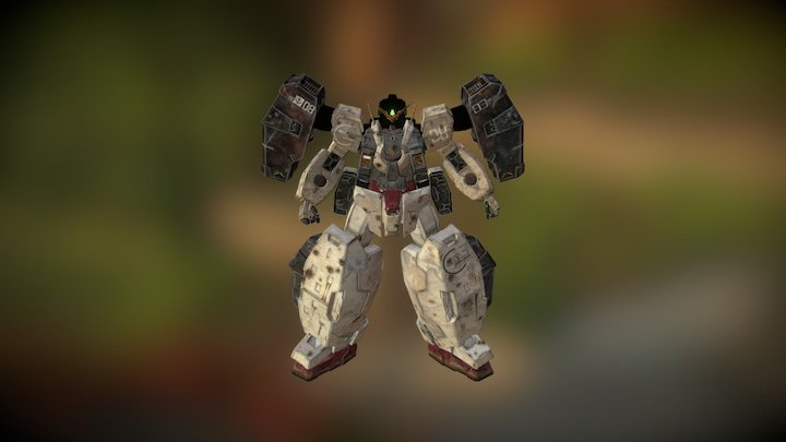 Gundam Virtue 3D Model