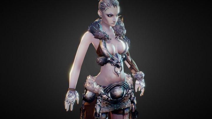 Norn Cultural Armor Test 3D Model