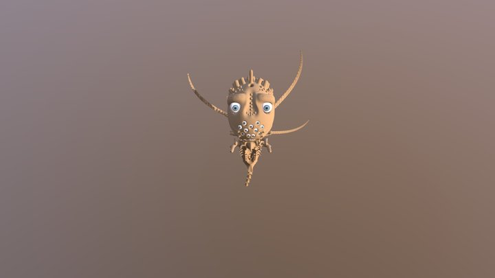 Sand Demon Sukuki 3D Model