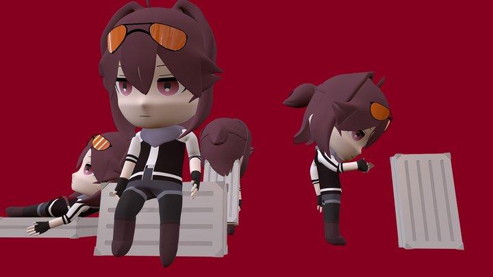 Atsu 3D Model