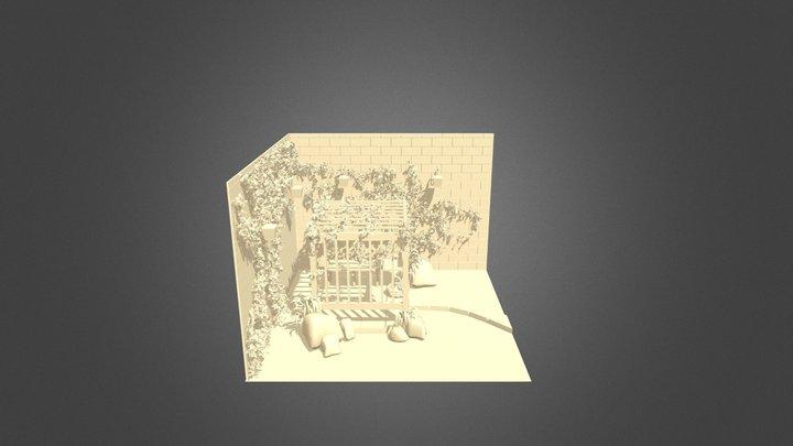 Secret Garden Nook 3D Model