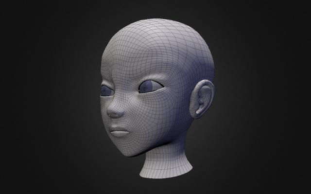 rostro 3D Model