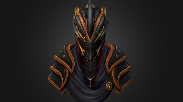 Lord of the Blacklight 3D Model