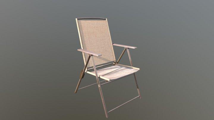 Patio Chair (reconstruction) 3D Model