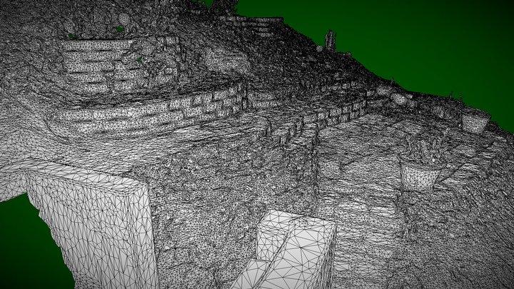 Retaining Wall Study 3D Model