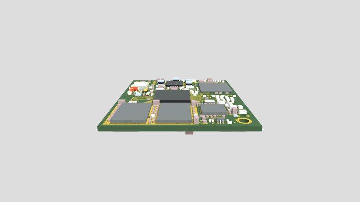 phyCORE-i MX7 (PCM-061) 3D Model