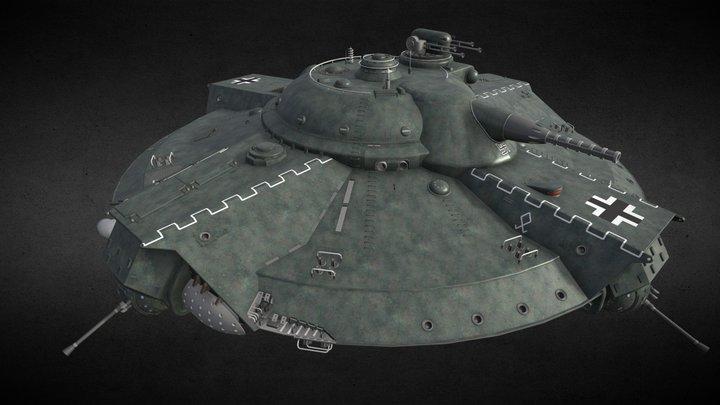 Iron Sky Walkyr 3D Model