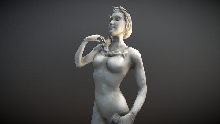 Female Renaissance Sculpture 3D Model