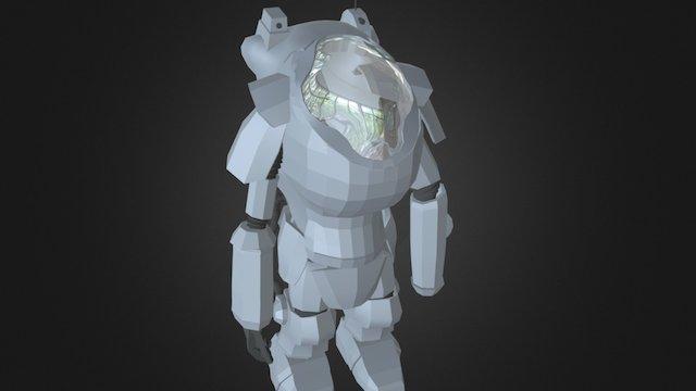 Maschinen Krieger 3D Model