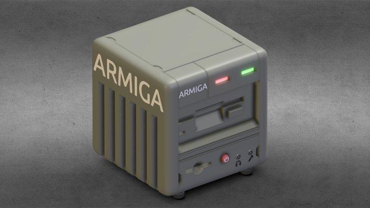 Simple shapes 1 day ARMIGA 3D Model