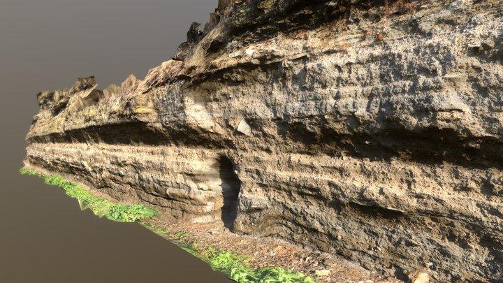 Tuff outcrop in Ulmen, Germany 3D Model