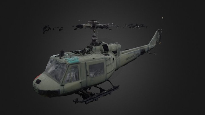 Chopper test,all photos masked 3D Model