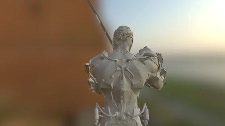ciber swordman 3D Model