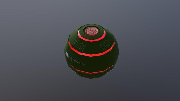 Athoros - Grenade 3D Model