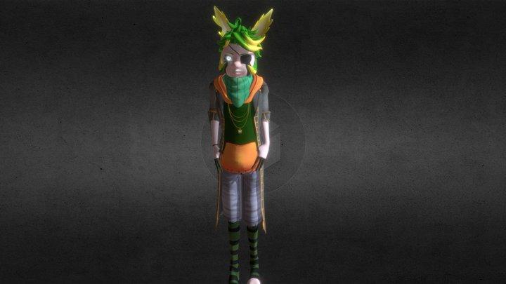 Robin 3D Model