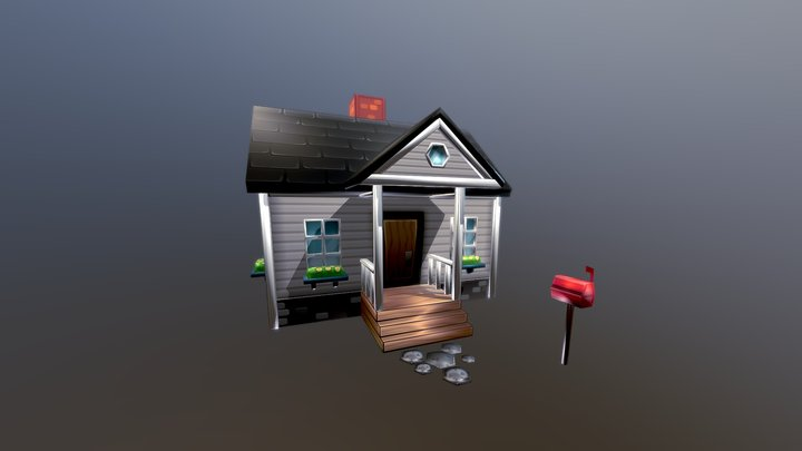 American Starter Home 3D Model