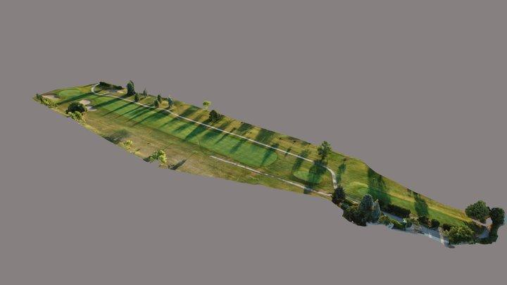 St. Clair Shores Golf Course - Hole #10 3D Model