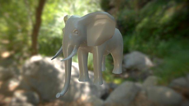 Elephant.c4d 3D Model