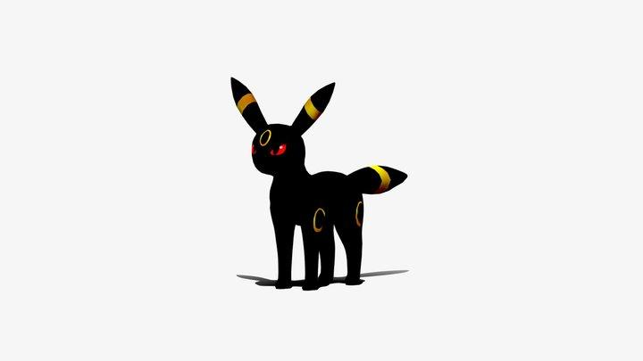 Umbreon - Pokemon 3D Model