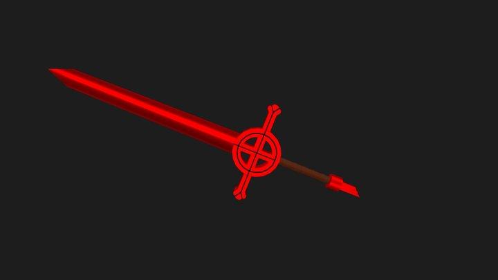 Finn's Demon Blood Sword 3D Model