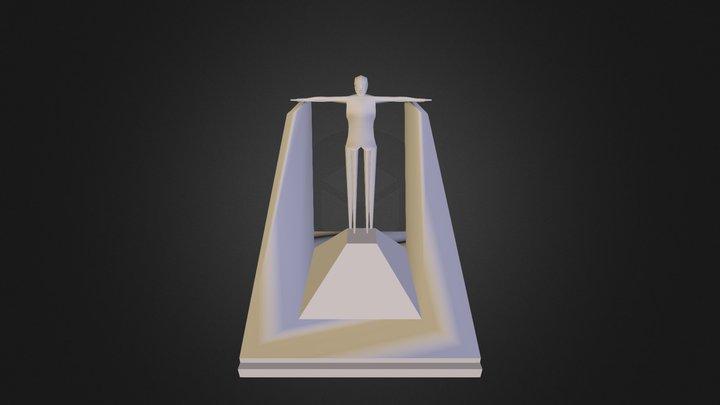 takoman 3D Model