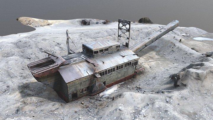 Dredge1 3D Model