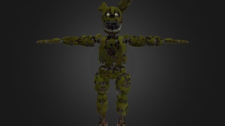Springtrap   Help Wanted 3D Model