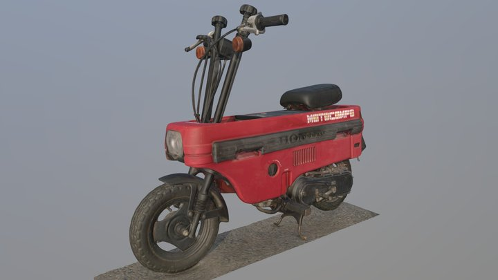 Motocompo 3DScan A 3D Model