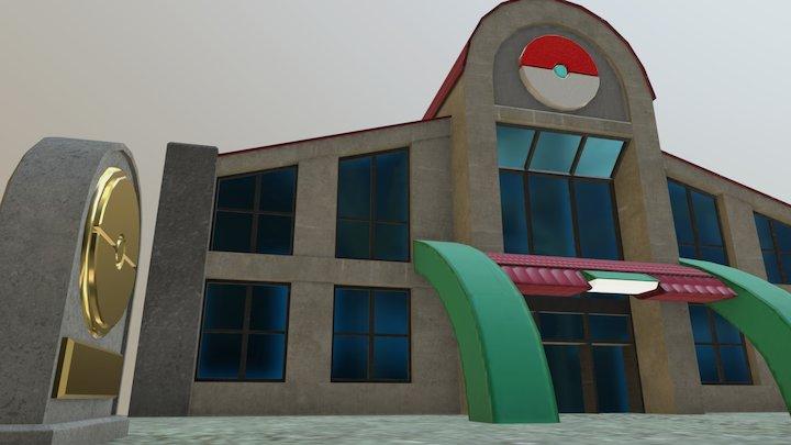 Large Pokemon Center - June 8 3D Model
