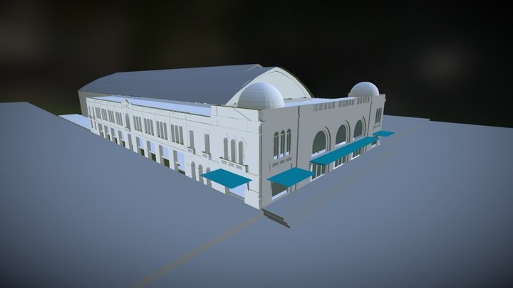 Estación Mapocho 3D Model