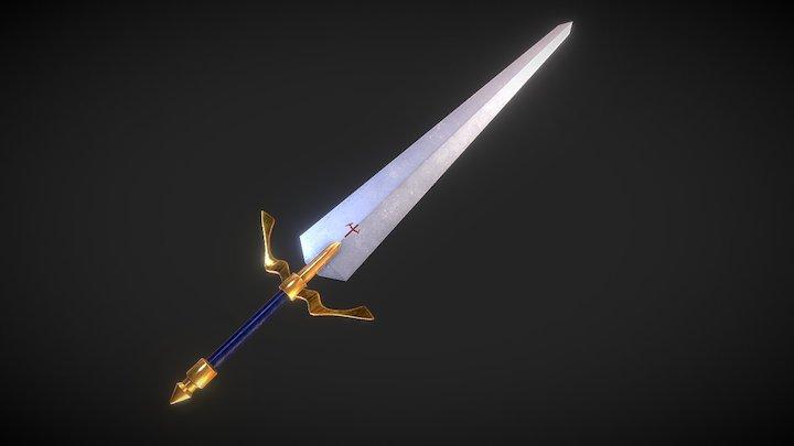 Weapon Sword 4 3D Model