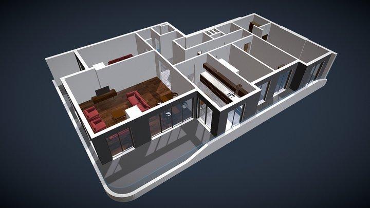T2 3D Model