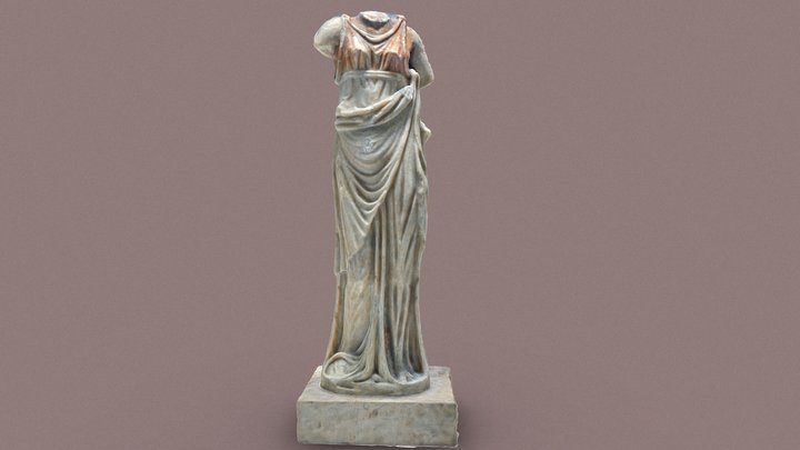 Statue d'époque romaine / Statue roman period 3D Model