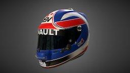 Jolyon Palmer Helmet 01 3D Model
