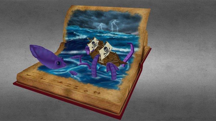 Sea Book 3D Model